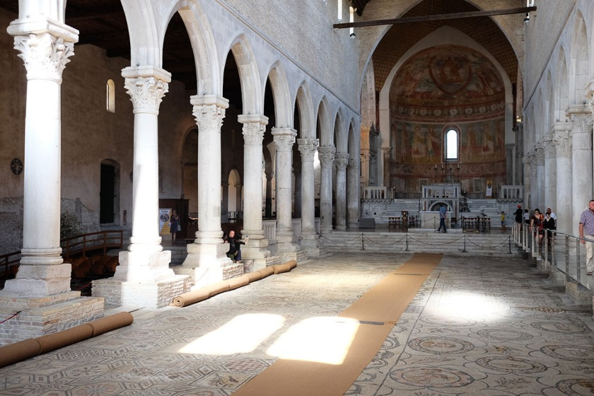 Aquilea Italien Kathedrale