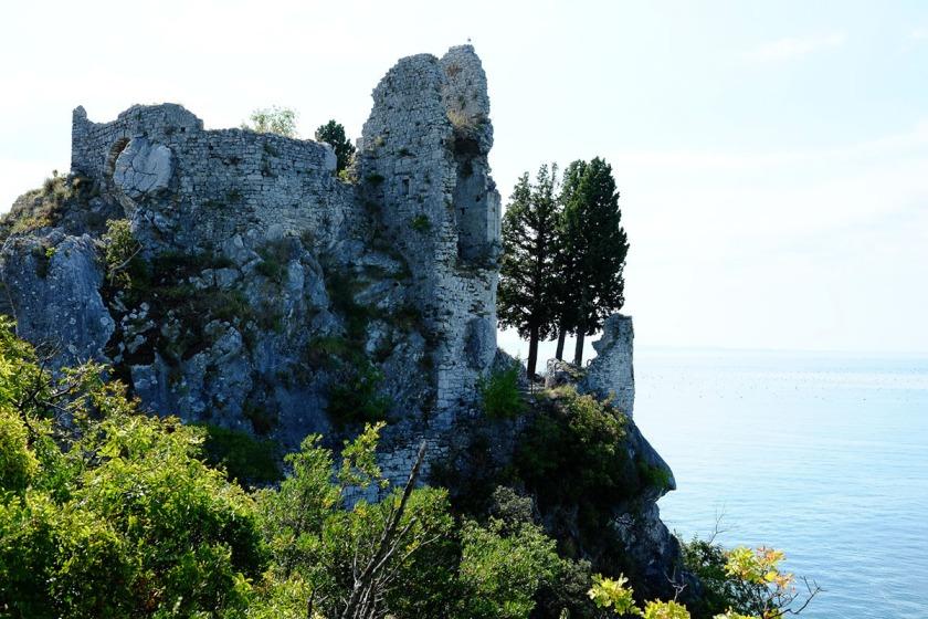 Duino Festung Italien