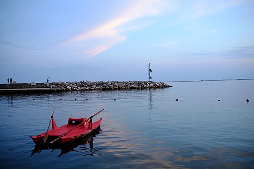 Duino Hafen Italien