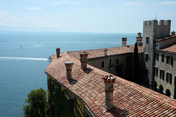 Duino Schloss Italien